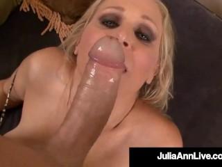 Sex Bomb Cougar Julia Ann Takes A Cock In Her Mature Muff Julia Ann