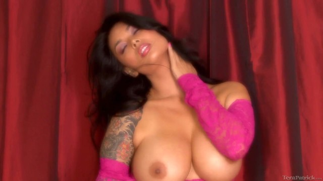 Patrick hagenaar in da ass Tera patrick shows off big tits and pussy teasing in sexy pink dress