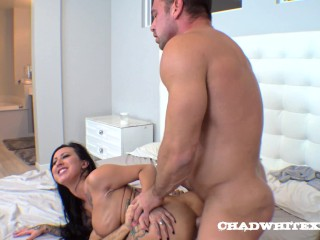 Fuck Doll Lily Lane Gets Ravaged By Chad White An Jo Castle DP Creampie Chad White