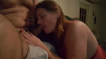 Teasing Daddys cock