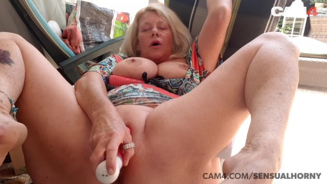 Over 5o porn Mature 50 year old milf squirts all over her dildo cam4