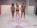 Mixed Nude Wrestling Kelly Provocateur vs Will Tile winner fucks loser