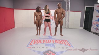 Mixed Nude Wrestling Kelly Provocateur vs Will Tile winner fucks loser