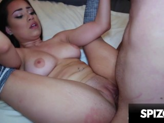 Bubble Butt Latina Demi Lowe Gets her Pussy Smashed Spizoo Demi Lowe, ralph long