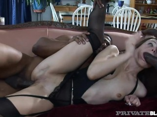PrivateBlack Cracker Amber Rayne Gets Orgy Of Black Cock
