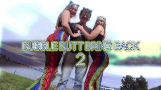 Big Butts & Beyond Bubble Butt Bring Back 2 Kenzie Madison & Laney Grey