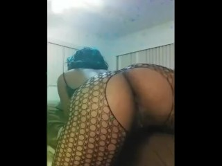 Ebony twerk/solo female/work something something twerk