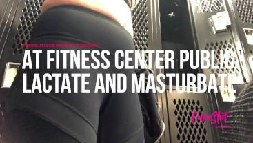 Public Lactation and Masturbation in the Gym Locker Room (Full)