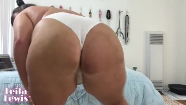 Squirting in my Smelly Worn Panties for a Fan