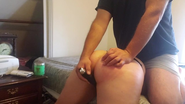 Wedgie fetish Sub girl trapped, wedgied, spanked, and edged