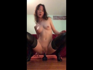 First Time with a BBC this Slut is addicted