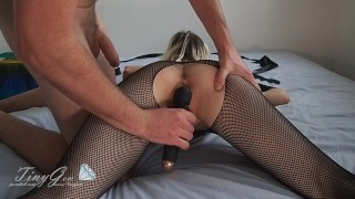TinyGem - Obedient Girlfriend on Lead Waits for a Fucking When He Gets Home