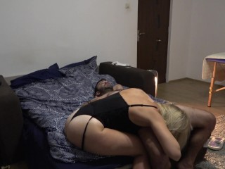 A night with a crazy milf Part She loves to lick balls and ass