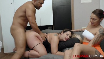 Plumber eating aunt and stepniece | Loupan Productions