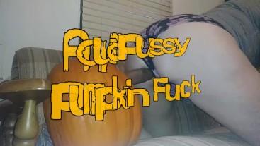 AquaPussy Pumpkin Fuck