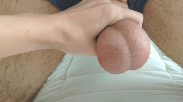 By dominating horny husband keeping sexual super teasing them wife Playing with my husbands balls before emptying them