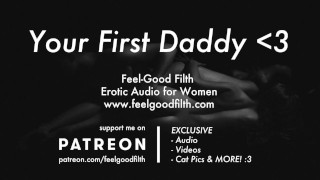 免费色情影片 - Ddlg角色扮演 与新爸爸Dom的粗糙性 女性色情音频