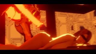 Film porno - Big boobs Trójwymiarowy Kwadrat