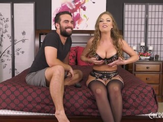 Big Tit Britney Amber Gets Fucked Out Of Her Lingerie in Live Show Britney Amber