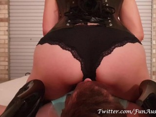 Smother Toy For A Bratty Succubus