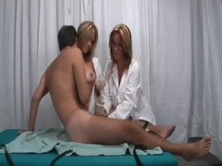 Rachel Steele HJ Two Nurses milking young boy