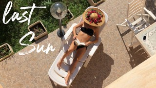 Films pornos complets - Last Sun Spying My Wife Masturbating Sunbathing In The Garden