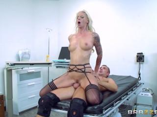Brazzers Horny Doctor Brooke Brand Fucks Her Patient Keiran Lee Keiran Lee