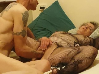 Daddy's little slut fisted until cums a few times