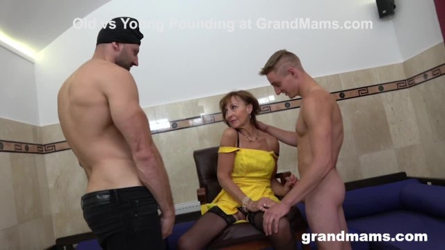 Grandmas horney sex club Granny sprinkled at a sex club