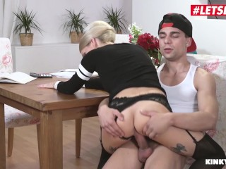 LETSDOEIT - Step Son Can't Do His Homework Cause Mommy Wants Some Cock