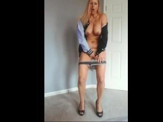 Amateur Model's Pornhub Jacket Pride!
