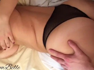 I wanted her so much that I fucked without undressing her