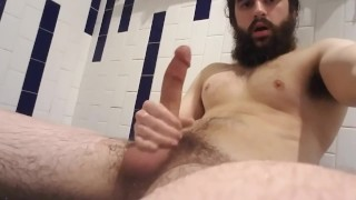 Movies Porn - Bearded-Guy Bearded Man Cums On His Chest And Beard