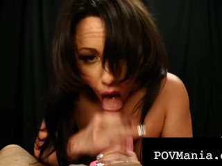 Hot Dick Sucking Jennifer White Blows A Hard Throbbing Cock Jennifer White