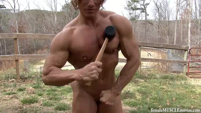 Ava cadell nude movies - Flexing nude muscle hammer