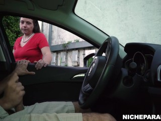 NICHE PARADE – She Stood There And Watched Me Cum
