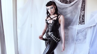 Goth with Strap-On Dildo Domination Fantasy – Milk Rebelle
