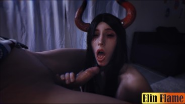 Possessed by a succubus fucked me till creampie -FULL version cum twitce&DT