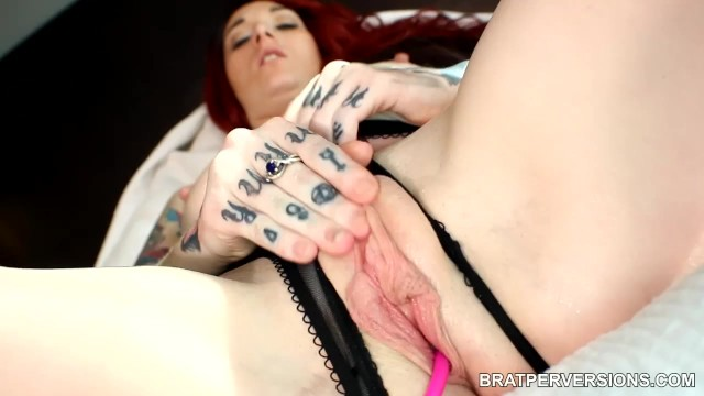Wet cunt large tit video Tattooed redhead beautiful large labia