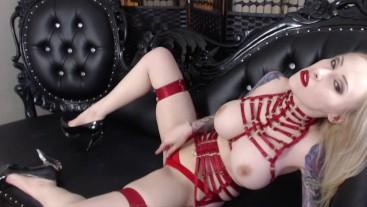 July Nude Striptease