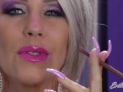 Smoking A Greater As The Smoke Billows From My Humid Pinkish Lips - Nikki Ashton -