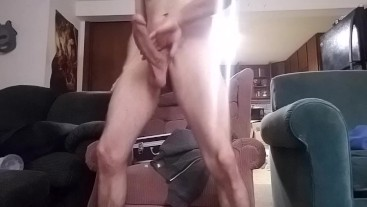 Huge cock Late night jack off