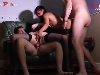 Hot amateur foursome with our friends