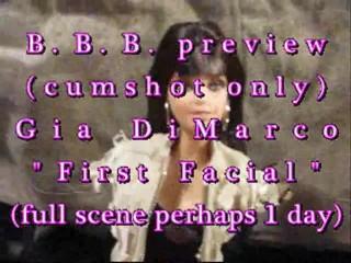 B.b.b. preview: 1st facial( )