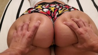My Big Booty Little Sister Was Playing My Switch So I Came In Her Pussy