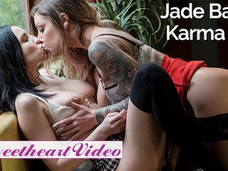 Jade Boss Inked video: SweetHeart - Secretary Jade Baker will do anything for inked boss Karma RX
