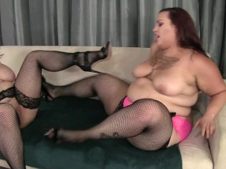 Chunky Lesbos get down Angel and Phoenix Angel DeLuca