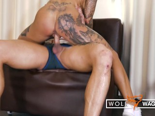 Filthy fitness girl banged in hotel room! WOLF WAGNER wolfwagner.love