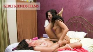 GirlfriendsFilms Adriana Chechik Rides A Hot MILF's Face