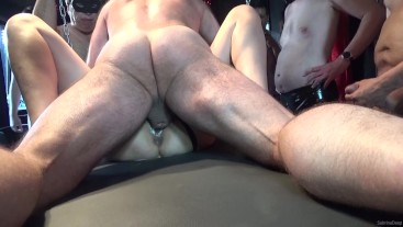 A River of Cum Creampie Gangbang P1 - Available on ModelHub